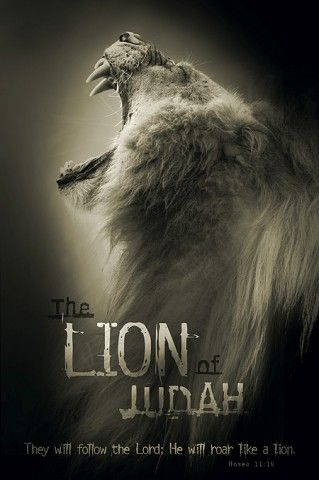 christian posters lion judah