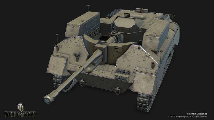 ArtStation - Alecto (World of Tanks XBOX ONE Edition), Valentin Gritsenko