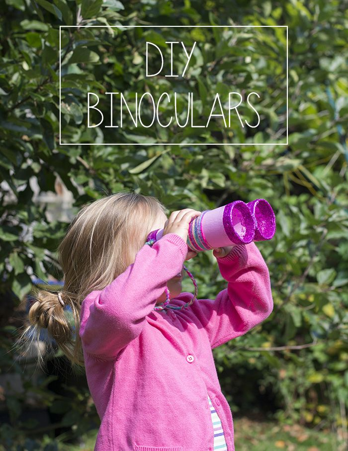 DIY Binoculars - These would be a good make for the #RSPB Big Garden #Birdwatch 24 - 25 Jan!