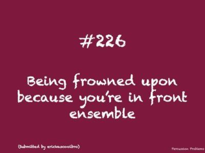Percussion ProblemsBand Probs, Band Stuff, Band Geek, Marching Band Pit, Band Percussion, Band Concerts