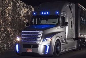 Freightliner Inspiration Truck: the self driving semi truck is real