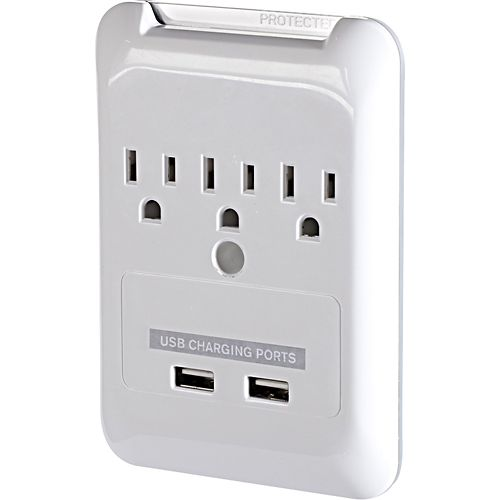 I like this from Best Buy. I bought one from Lowes here in Canada $20.00 ...fits into your socket ...plugs in!,,