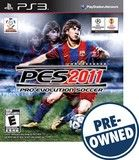 Pro Evolution Soccer 2011 — PRE-Owned - PlayStation 3