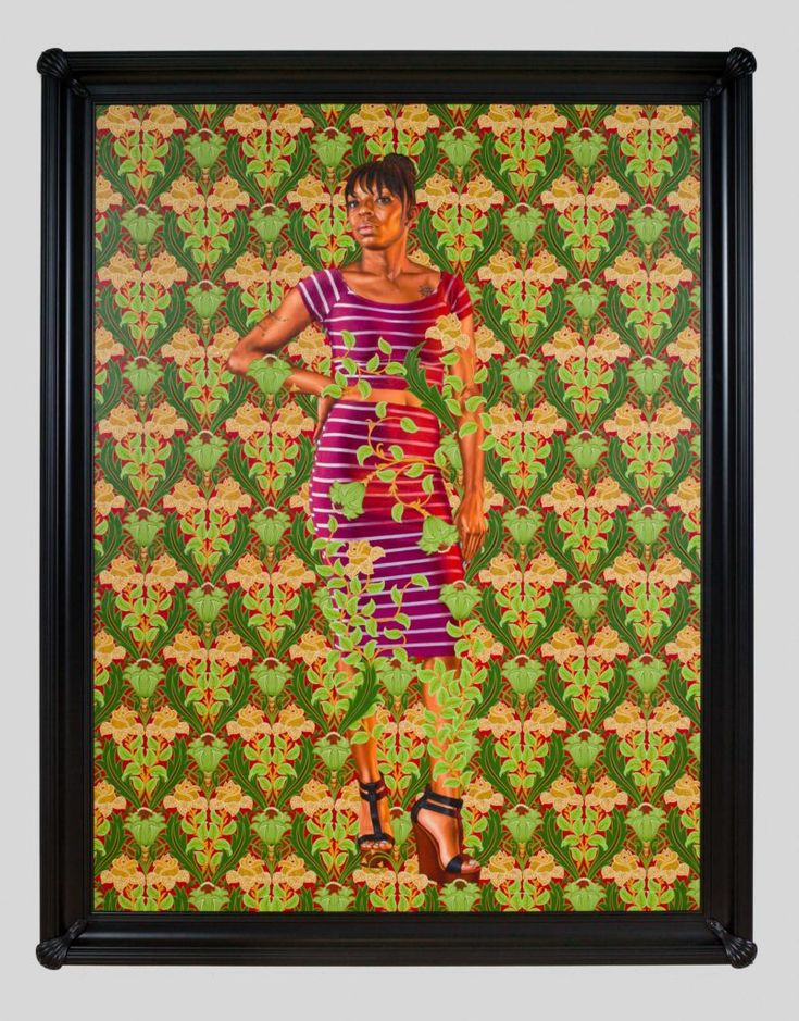 Kehinde Wiley contemporary portraits Kehinde wiley, St
