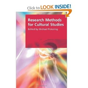Research Methods in Cultural Studies (Research Methods for the Arts and the Humanities)-- requested via Summit