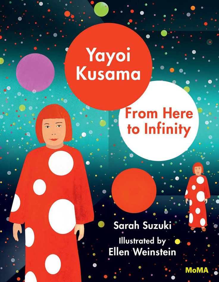 A New Children's Book Illustrates the Life and Career of Yayoi Kusama | Spoon & Tamago