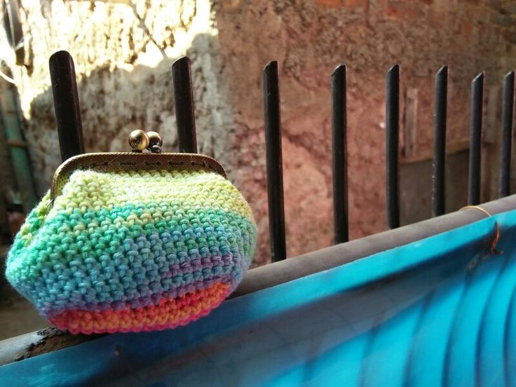 color splash coin purse