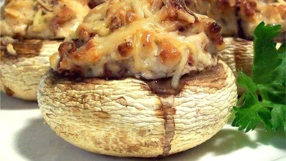 Stuffing cream cheese, Parmesan cheese, and bacon into mushrooms is a delicious way to impress someone special.