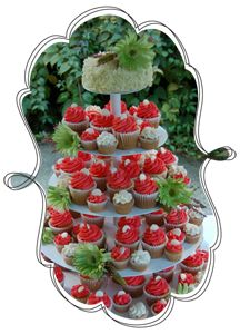 Tracycakes can help to make your wedding extra sweet with their signature cupcakes. Customize your cupcake tier topped with a cutting cake, or your individually boxed cupcake wedding favours to suit your colour theme and flavour preferences.  Locations in Abbotsford, Fort Langley, and White Rock, BC.  #DIY   #wedding