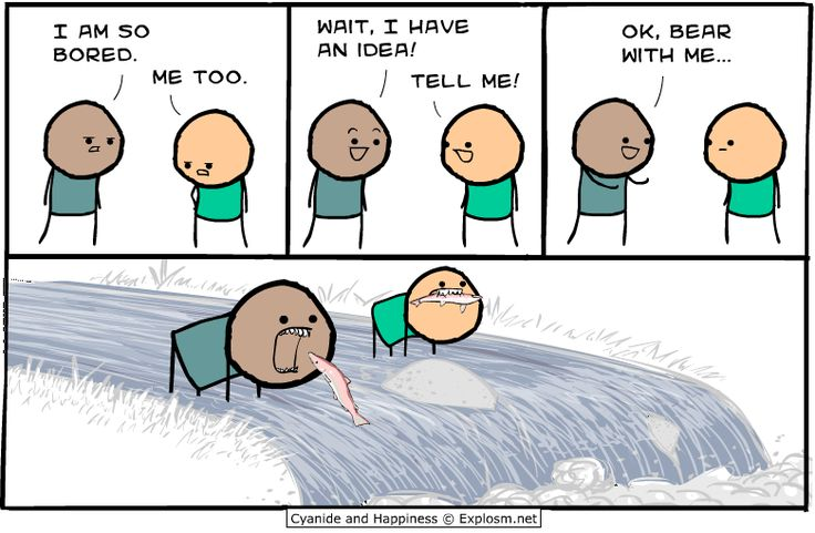 Just a dose of Cyanide & Happiness... - Imgur