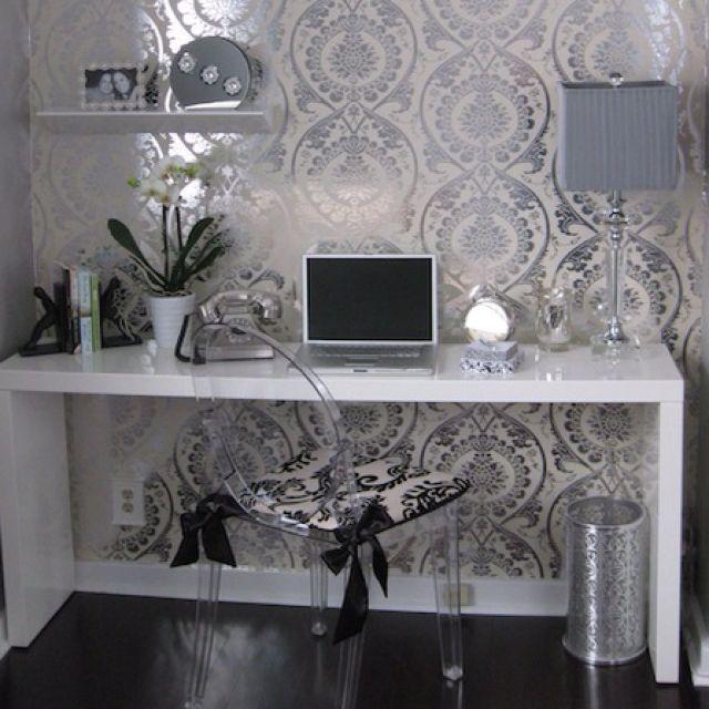 Mais de 1000 ideias sobre papel de parede arabesco no - Papel pared entrada ...