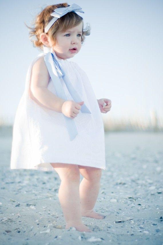 11 best images about flower girls on pinterest starfish for Flower girl dress beach wedding