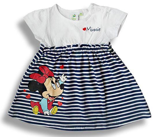 Dievčenské letné šaty - MINNIE  http://www.milinko-oblecenie.sk/dievcenske-saty-a-sukne-2/ #detskesaty #satyprebabatka #kojeneckesaty #dievcenskesaty