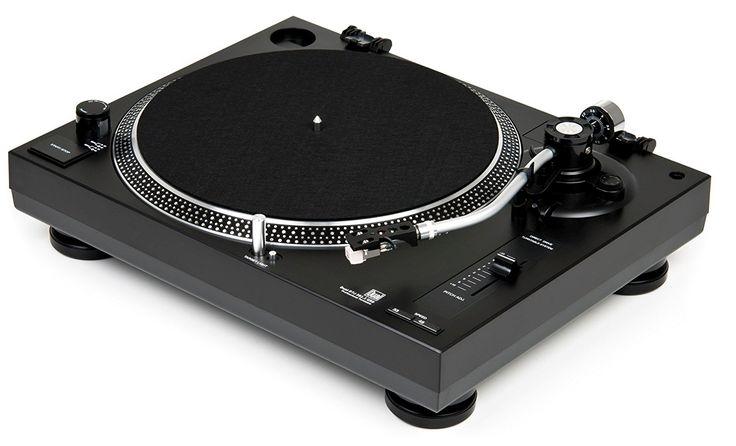 Dual DTJ 301.1 USB DJ-Plattenspieler (33/45 U/min, Pitch-Control, Magnet-Tonabnehmer-System, Nadelbeleuchtung, USB Kabel) schwarz: Amazon.de: Elektronik