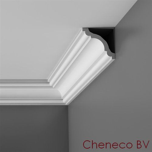 CX123 Plafondlijst 80 x 80mm