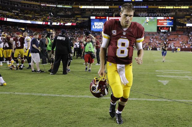 Giants vs. Redskins live stream, live score updates; NFL 2016  -    Kirk Cousins