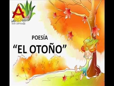 Poesía con hojas doradas para leer o narrar viendo los dibujos++++++
