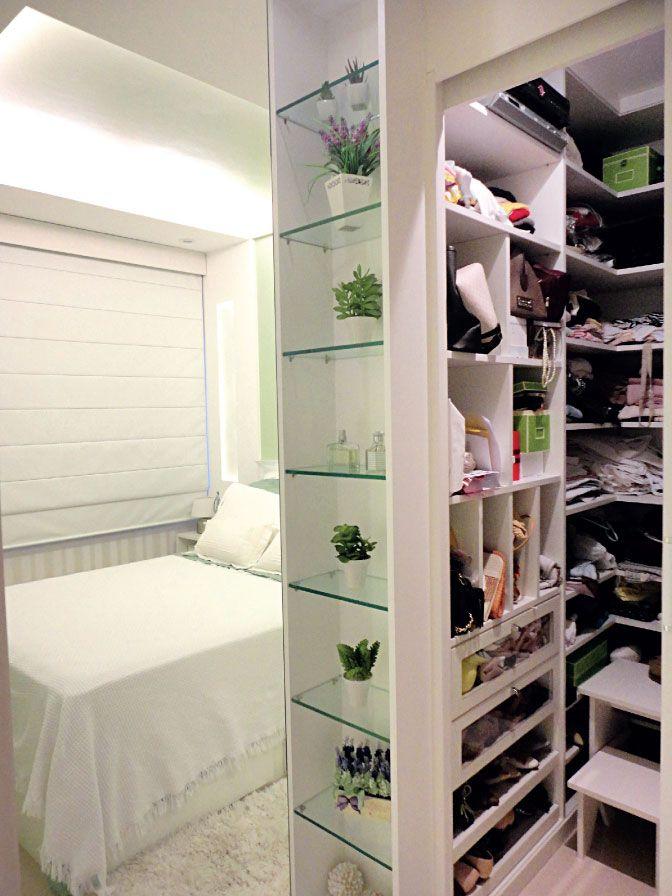 Closets possíveis para sua casa #quarto #casal #closet #prateleiras