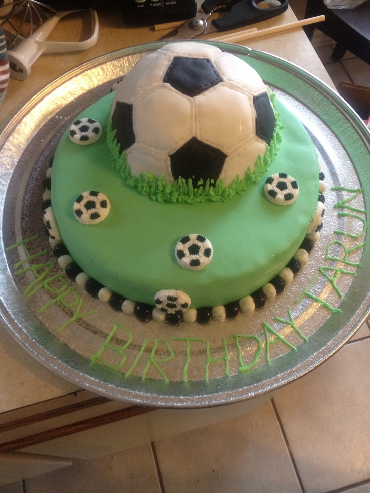 Soccer Birthday Cakes Pinterest