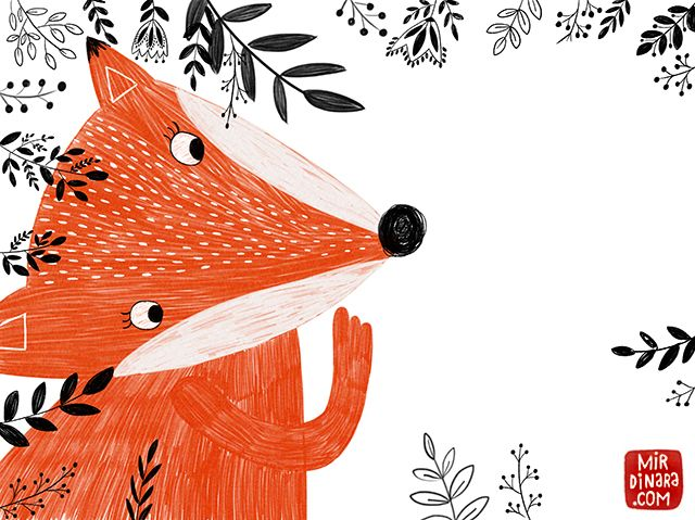 mirdinara: A curious fox