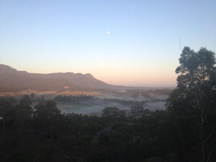 Sunrise at Golden Door, Hunter Valley