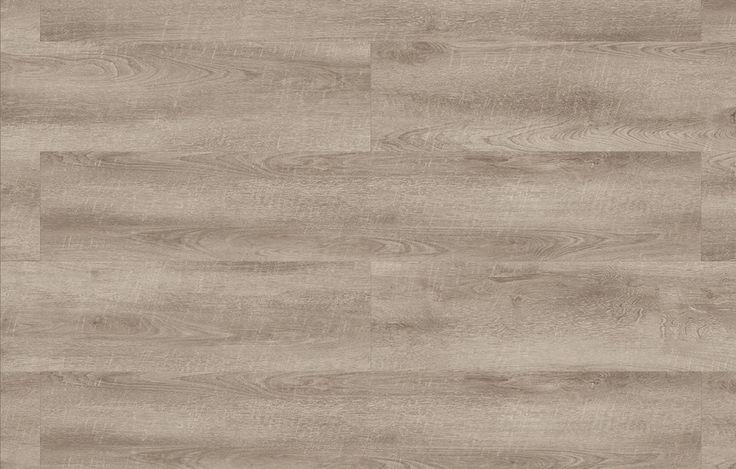True Grey XL is een pvc-vloer met extra brede planken. De vloer heeft een rustieke uitstraling vanwege de stoere print met zaagsnedes en warm grijze nuances.