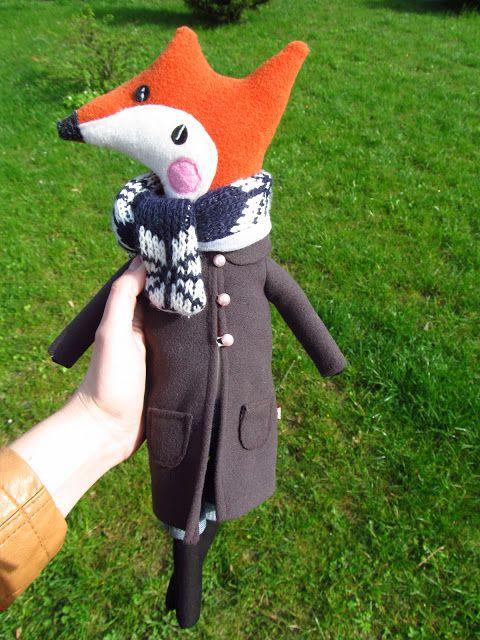 www.polandhandmade.pl #polandhandmade #fox #toys