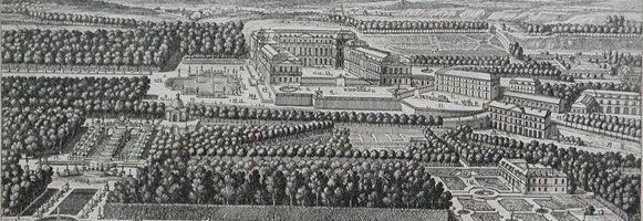 The Domaine de Saint-Cloud in the seventeenth century (Detail) - home of Philippe I, duc d'Orleans