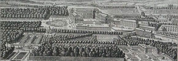 The Domaine de Saint-Cloud in the seventeenth century (Detail) - home of Philippe I, duc d'Orleans