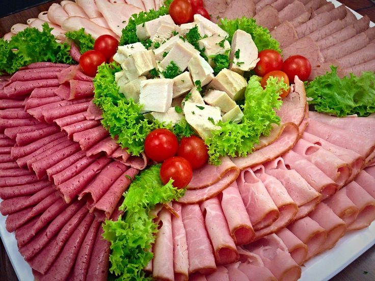 meat platters | Sliced Meat Platter | Platters Plus Catering