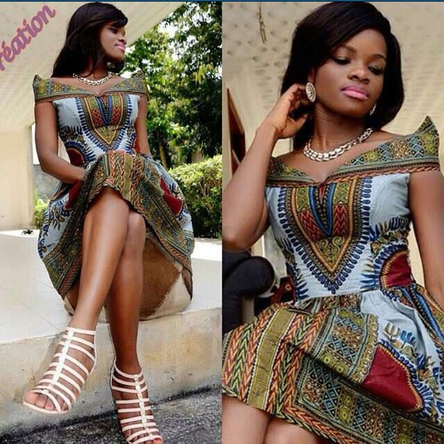 Robe de Dashiki africaine de Midi ; Vêtements africains ; Mode africaine ; Presse africaine ; Robe africaine ; Robe d'été par MsAlabaAfricanShop sur Etsy https://www.etsy.com/fr/listing/198660149/robe-de-dashiki-africaine-de-midi