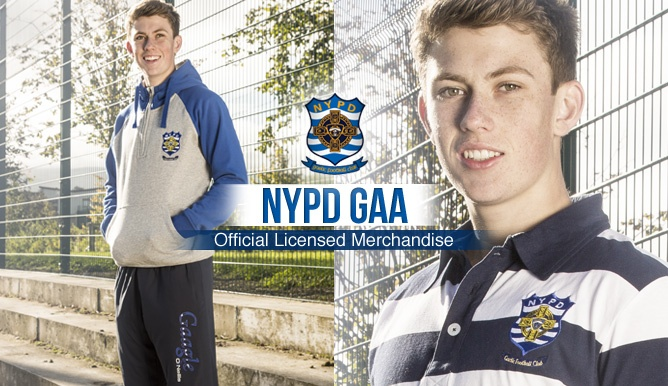 NYPD GAA Range - now available to buy online. Just in time for christmas.