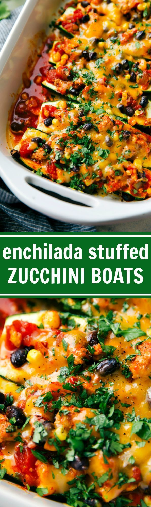 34 best real deals 100 days of real food images on pinterest real mexican ground turkey enchilada stuffed zucchini boats bursting with flavor and tons of good for you ingredients recipe from chelseasmessyapro fandeluxe Images