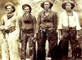 Historical Photos Cowboys Wearing Bandanas