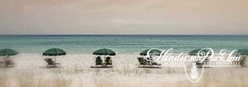 Relax in the shade on the beach listening to waves crash on the shore. Ahhh.... Doesn't get any better than that. #Destin #Florida #honeymoon #anniversary #bedandbreakfast #wedding #romantic #getaway
