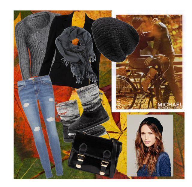 autumn by slytheriner on Polyvore featuring NIC+ZOE, Alice + Olivia, Current/Elliott, TOMS, ALDO, Free People, Mes Demoiselles..., Gucci and MICHAEL Michael Kors