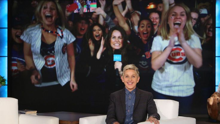 "Ellen DeGeneres went full Chicago during Friday's episode of ""The Ellen DeGeneres Show,"" when she made two die-hard Cubs fans' dreams come true."