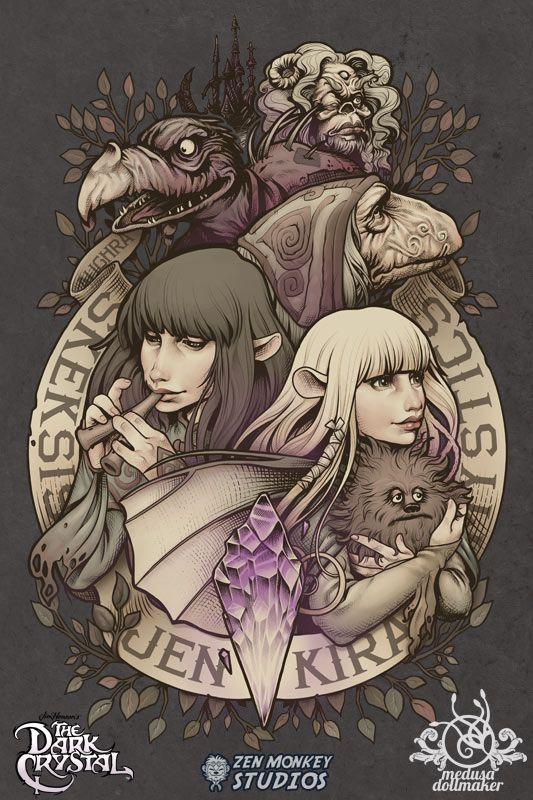 Official Dark Crystal design by Medusa-Dollmaker.deviantart.com on @DeviantArt