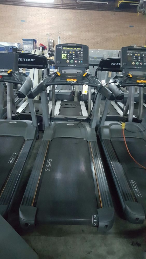 Matrix T5x Treadmill  **CLEANED AND SERVICED** COMMERCIAL GYM EQUIPMENT