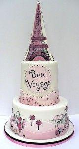 Painted Wedding Cake Paris