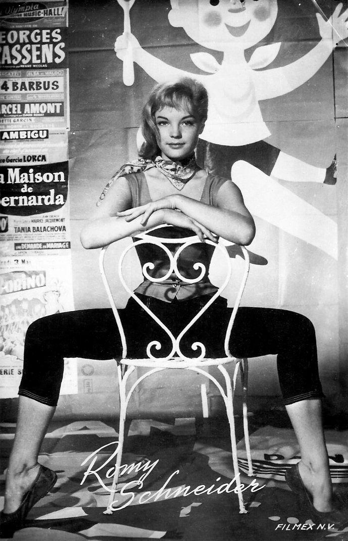 Romy Scheider Publicity still for Monpti/Love From Paris. 1957.