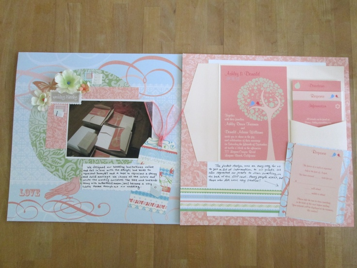 Scrapbooking ideas for wedding invitations Wedding celebration blog – Scrapbooking Wedding Invitation Ideas