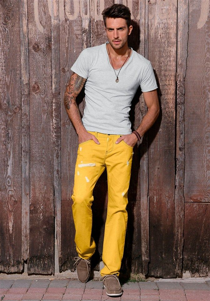 17 Best ideas about Yellow Pants on Pinterest | Yellow jeans ...