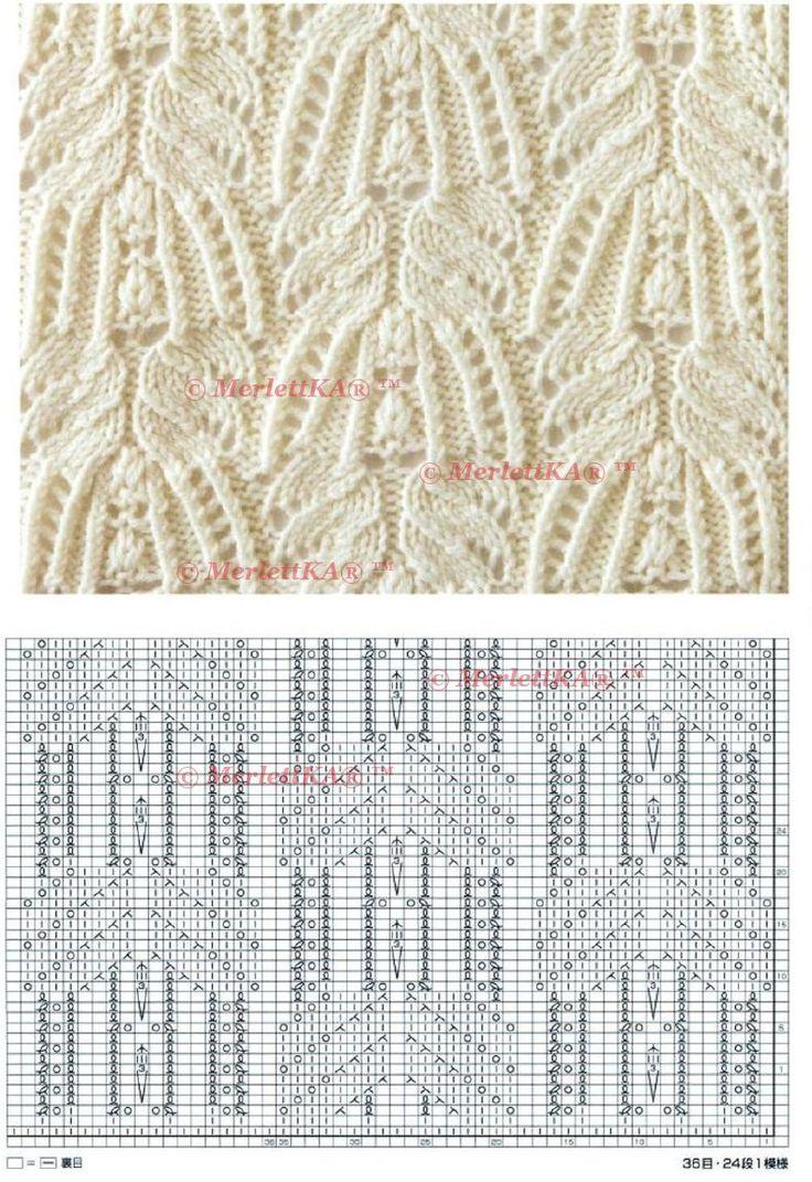 Блуза от Лидии Соселия на основе узоров Хитоми Шида - вязание спицами для подиума + 4 аналогичных узора и две модели. Обсуждение на LiveInternet - Российский Сервис Онлайн-Дневников