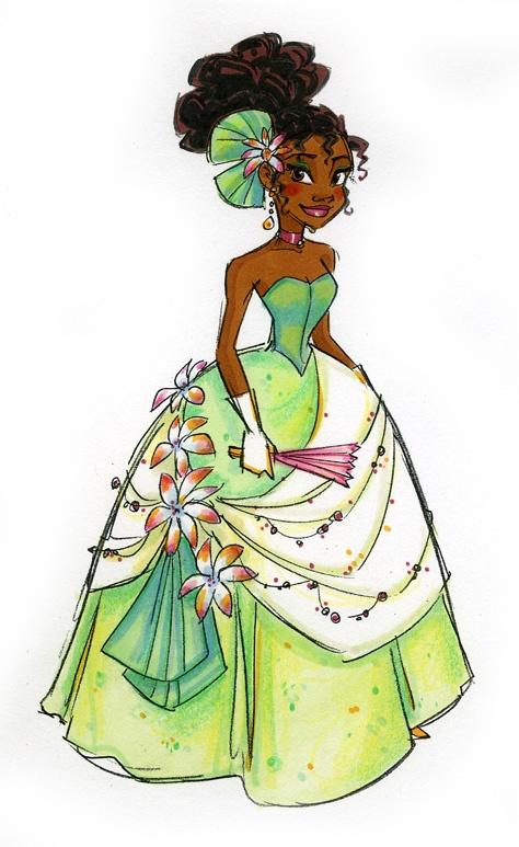 Tiana_La Princesse et La Grenouille
