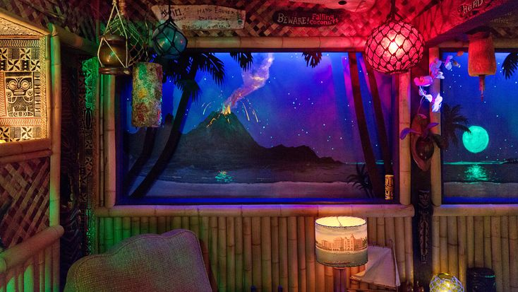 Inside LA's Tiki Underground | Photo: DYLAN + JENI