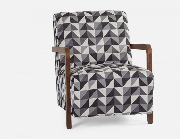 NICO - Armchair - Black and White