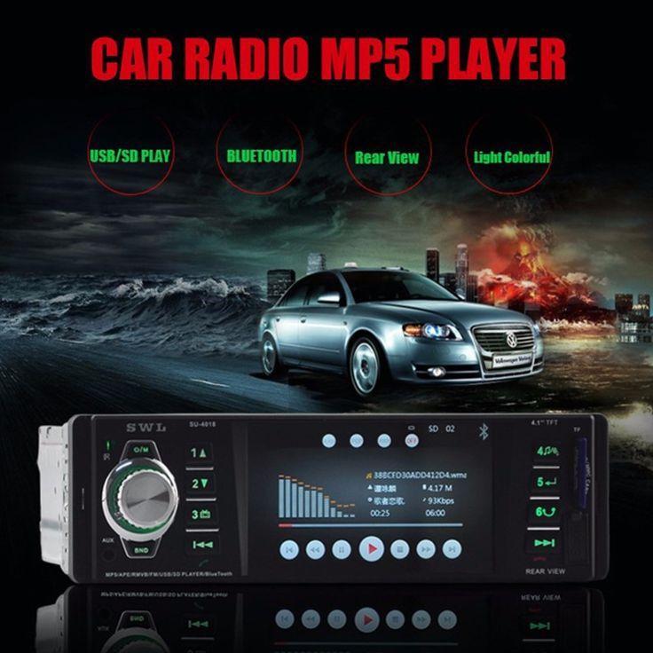 62.65$  Buy here - http://alim4k.shopchina.info/go.php?t=32802999301 - Bluetooth Stereo Car Radio MP5 MP3 FM Player In-Dash Auto Audio AUX USB Remote Control 62.65$ #magazine