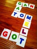 Quiet Time Activity - Alphabet Tiles