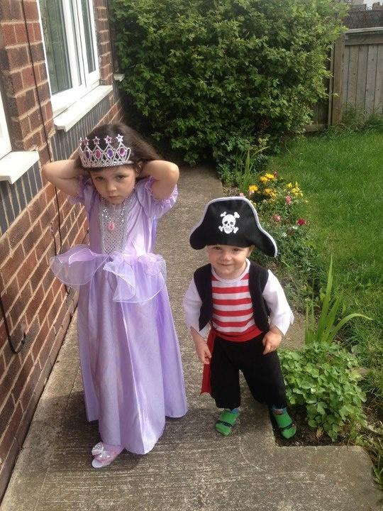 Pirate and Princess!